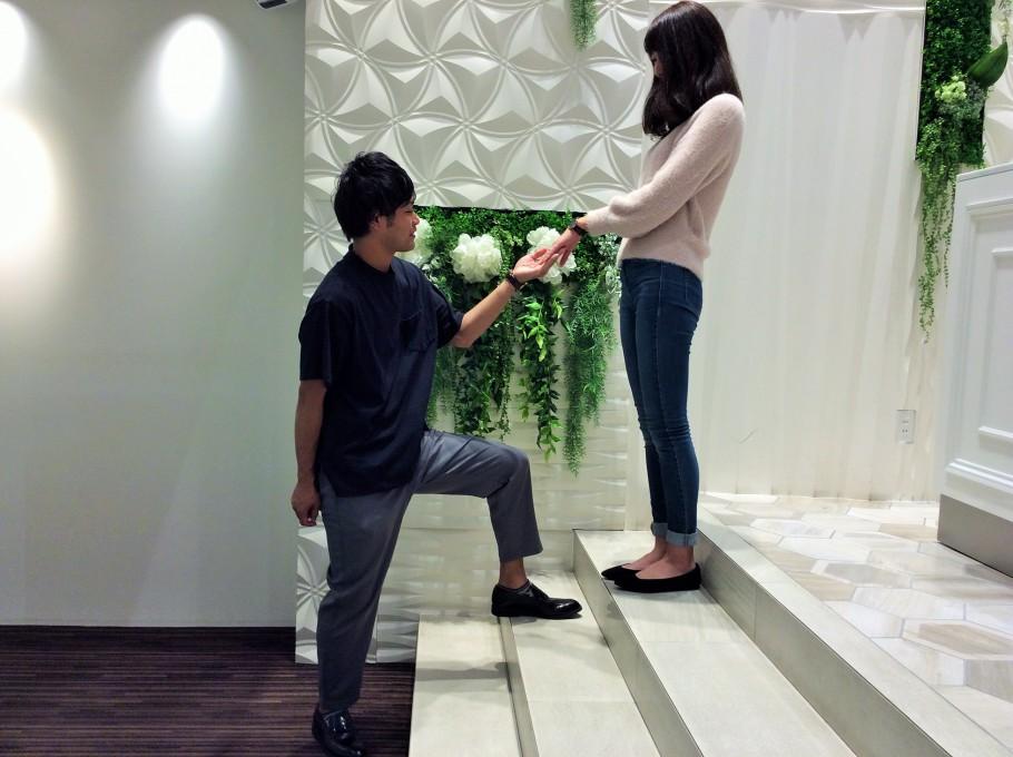 シェールラヴ婚約指輪