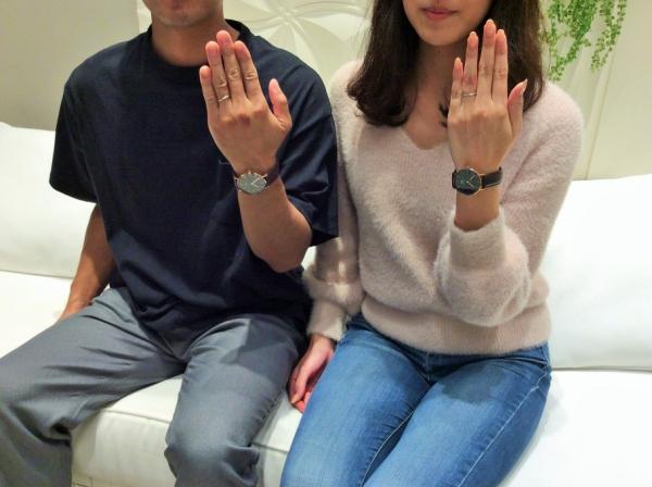 シェールラヴ結婚指輪マーガレット