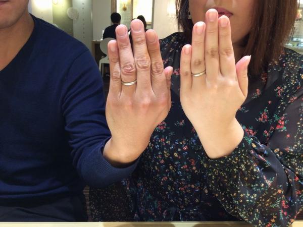 神崎郡福崎町『パイロットブライダル』の結婚指輪をご成約いただきました。