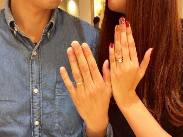 LAPAGE結婚指輪ダリア