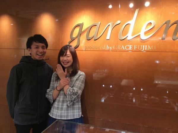 Little garden婚約指輪ガーベラ