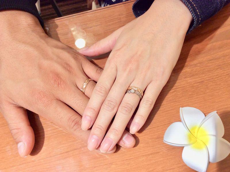 結婚指輪Private beach