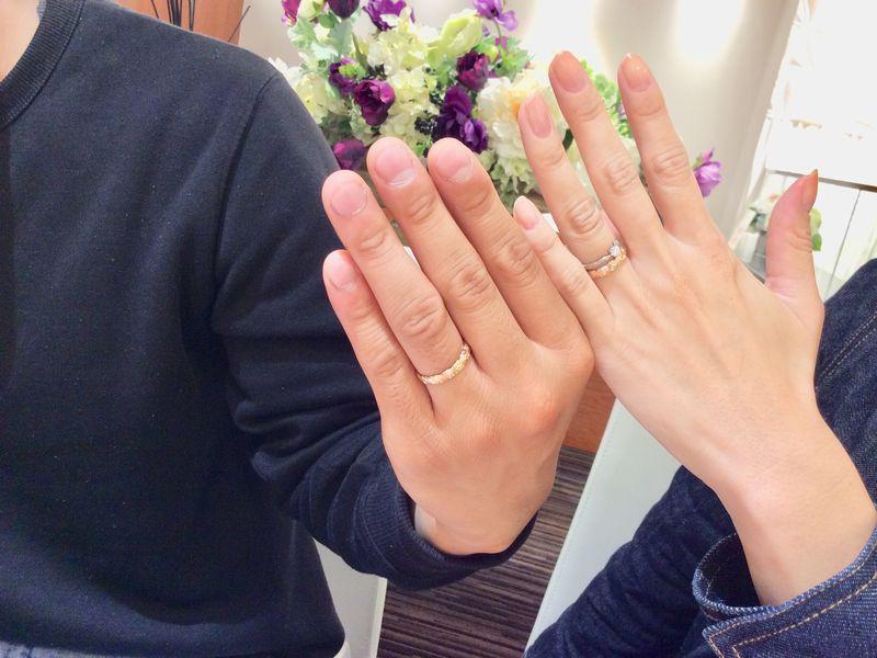 伊丹市『Private beach』結婚指輪をご成約
