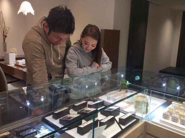 加古川市『フィッシャー』結婚指輪をご成約