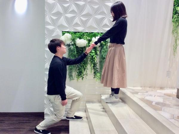 加古川市『Little garden』婚約指輪をご成約