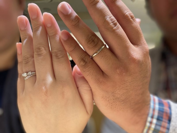 SO結婚指輪カラーストーン