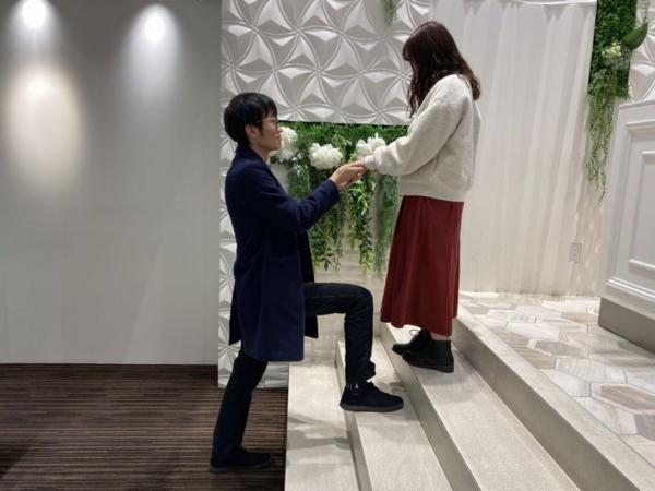 姫路市『gardenオリジナル』婚約指輪をご成約。