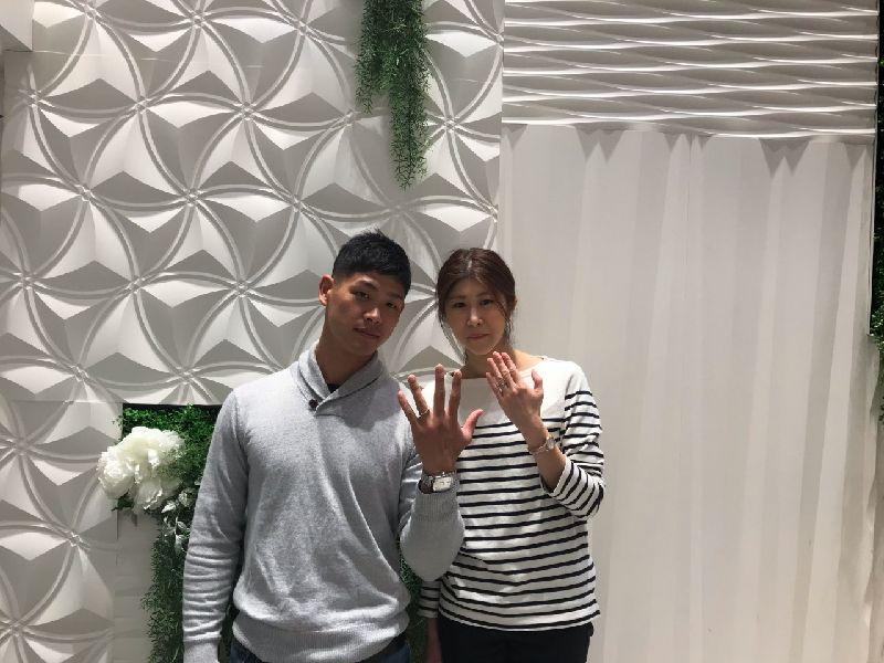 姫路市【フィッシャー】の結婚指輪をご成約