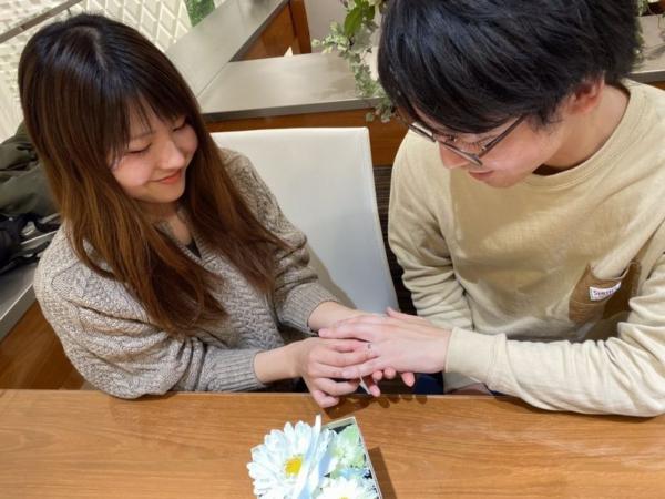 神戸市須磨区『フィッシャー』結婚指輪をご成約いただきました。