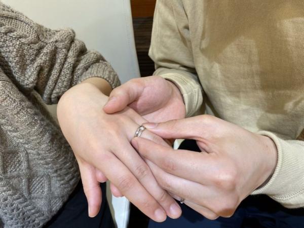 シェールラヴ婚約指輪アジュガ