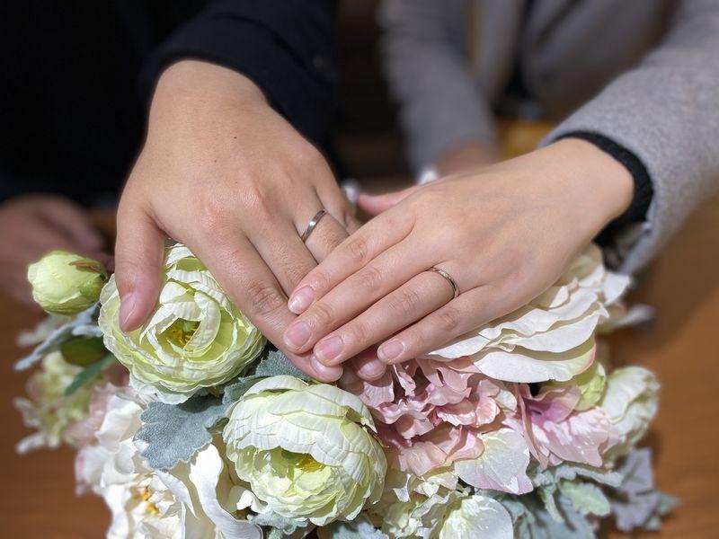 ロゼット結婚指輪