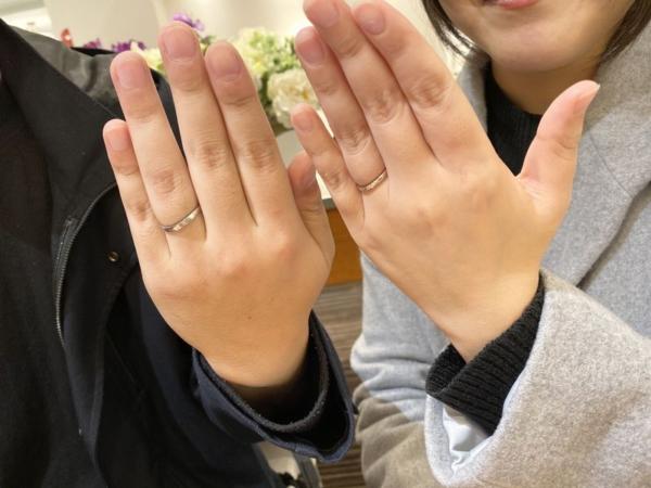 ロゼット結婚指輪月あかり