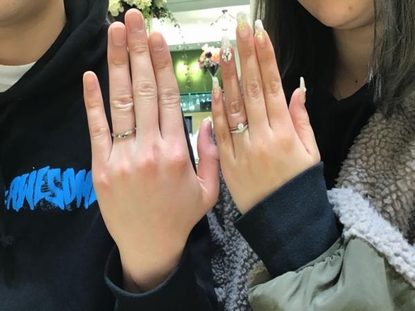 加古川市『LAPAGE』婚約指輪・結婚指輪をご成約いただきました。