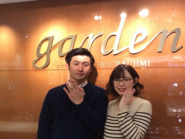 神戸市北区『Milk&Strawberry ・AMOUR AMULET』結婚指輪を成約いただきました。