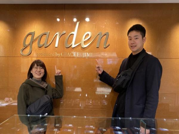 姫路市『GRAMA』結婚指輪をご成約いただきました。