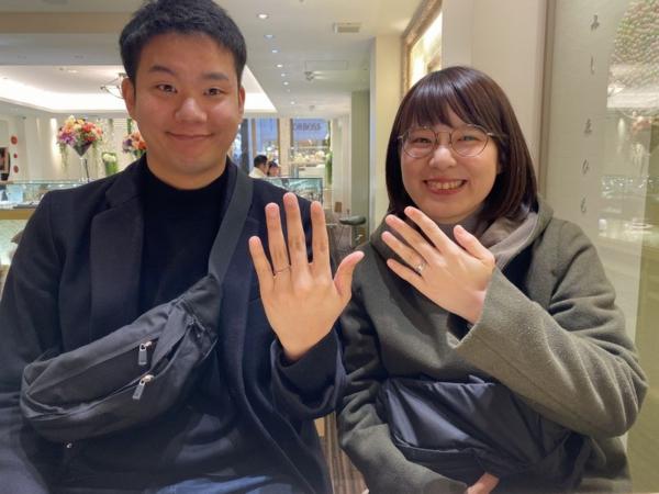 ペパーミント結婚指輪GRAMA