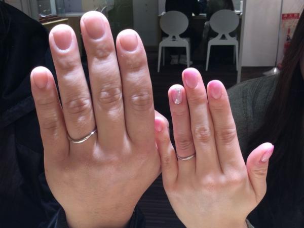 姫路市『Pulito』結婚指輪をご成約いただきました。
