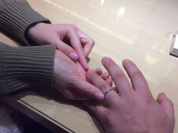 Pulitoフィレンツェ結婚指輪