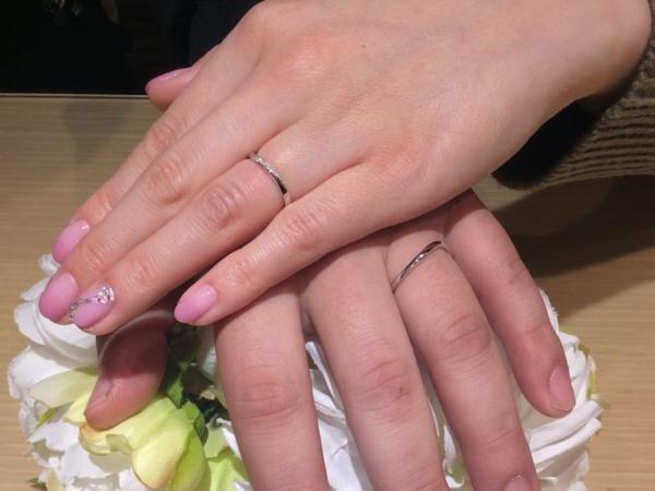 Pulito結婚指輪フィレンツェ