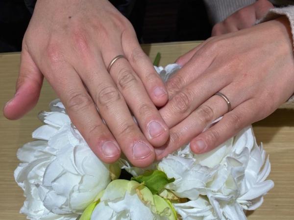 結婚指輪和テイスト