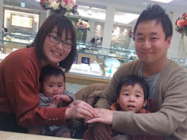 神戸市垂水区『et.lu』結婚指輪をご成約いただきました。