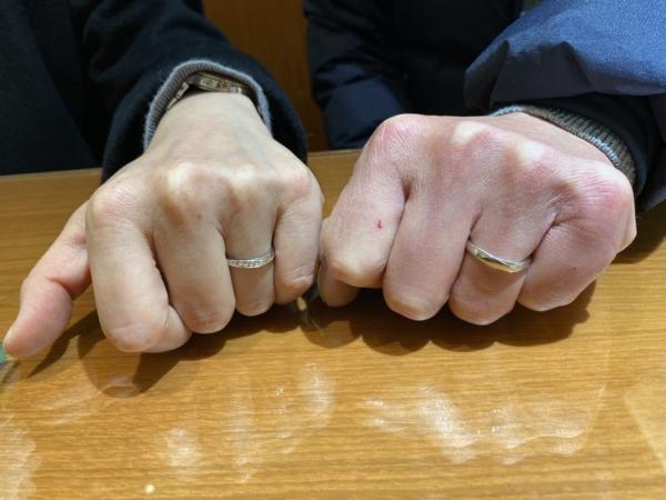 姫路市『オクターヴ』結婚指輪をご成約いただきました。