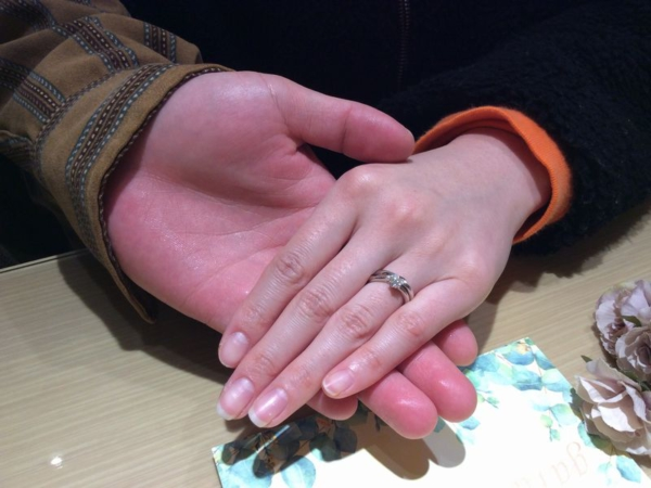 婚約指輪gardenオリジナル