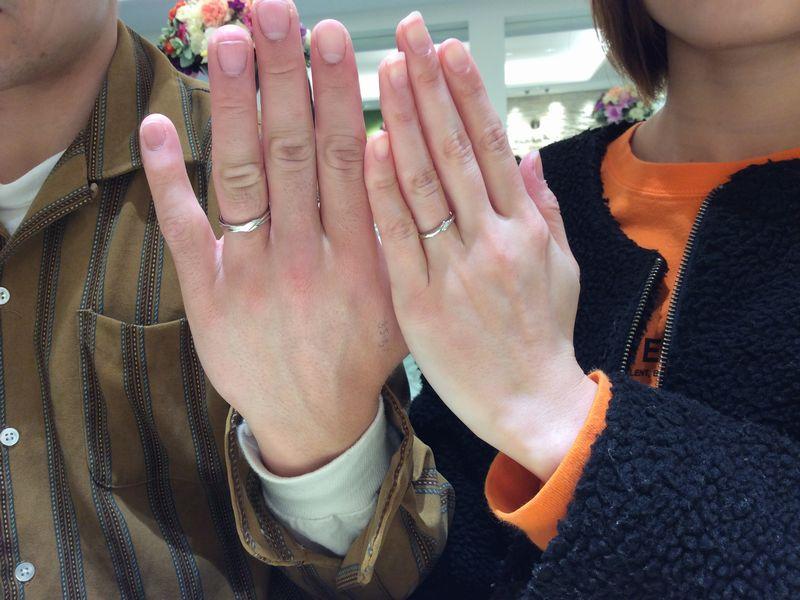 Mariage ent結婚指輪プルミエール