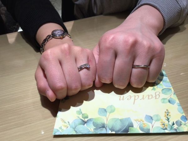 結婚指輪et.luウニーソノ