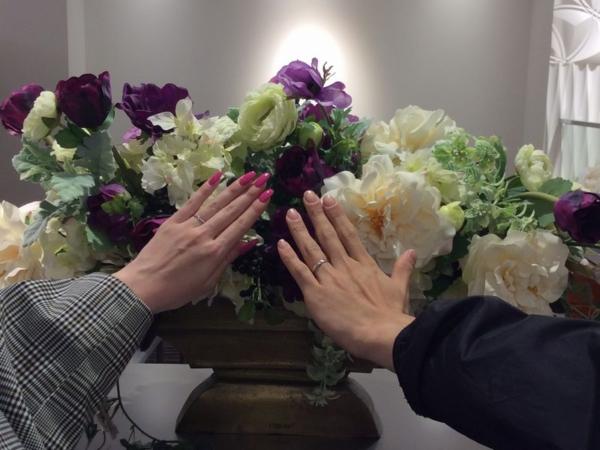 Pulito結婚指輪アマルフィ