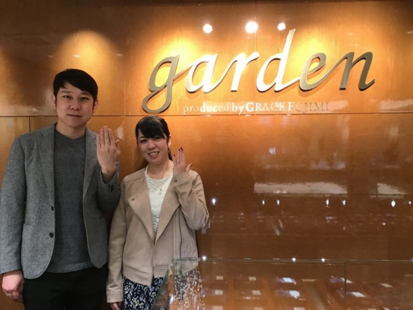 Only You結婚指輪コンビリング