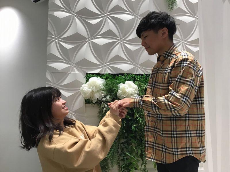 RosettEとIROノHAの結婚指輪