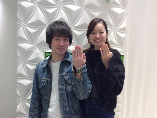 Milk&Strawberryエステラ結婚指輪