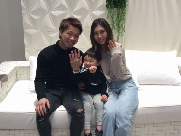 LIAISONとOnly You結婚指輪