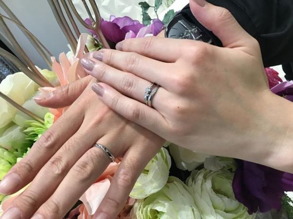 姫路市『Only You』結婚指輪をご成約いただきました。