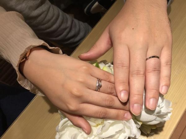 ロゼット婚約指輪魔法