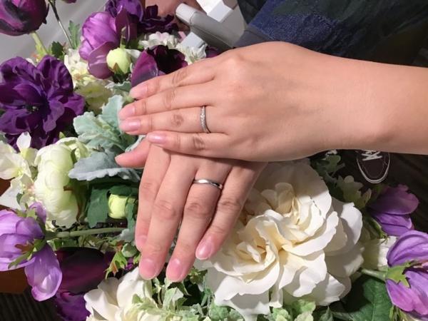 姫路市『IROノHA・OCTAVE』結婚指輪をご成約いただきました。