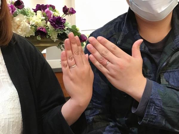 オクターヴ結婚指輪シャルール