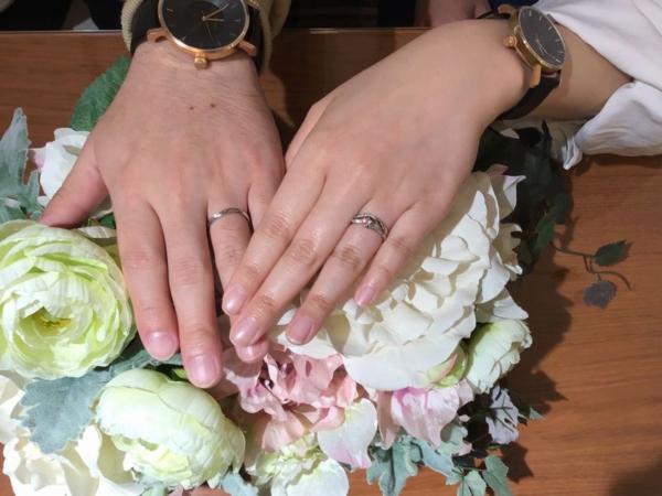 VIVAGE結婚指輪リリック