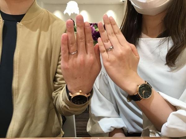 姫路市『VIVAGE・Mariage ent』結婚指輪をご成約いただきました。