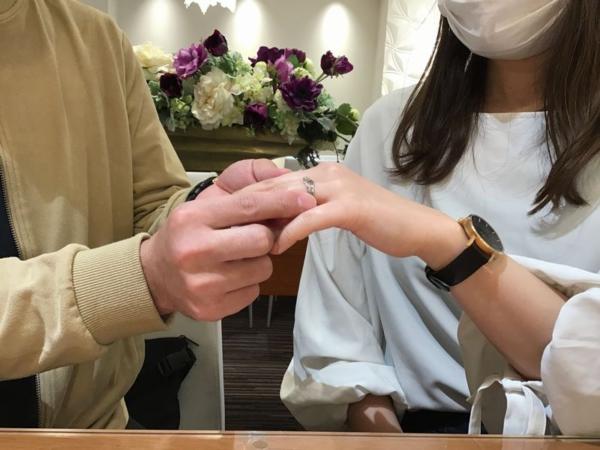 マリアージュエント結婚指輪シェリール