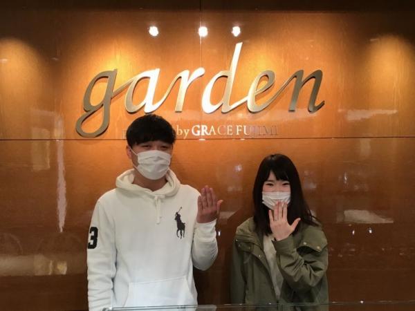姫路市『Little garden』婚約指輪をご成約