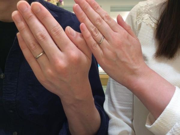Quand de Mariage結婚指輪リフレ