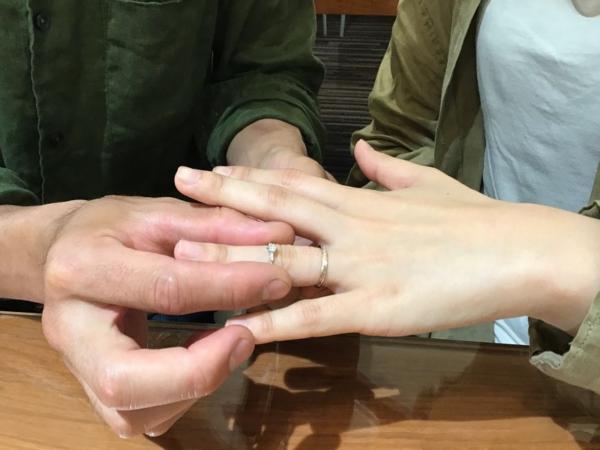 Little garden婚約指輪
