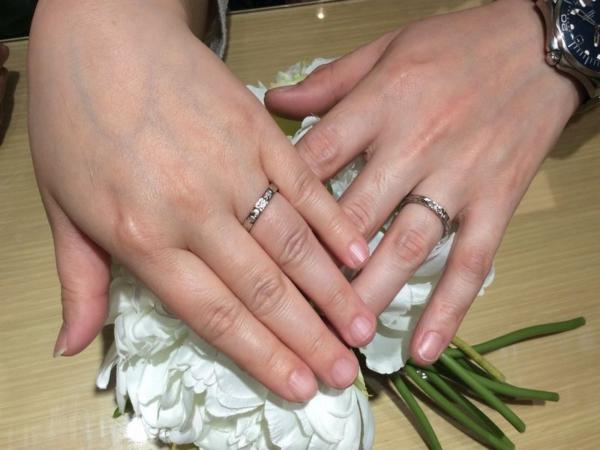 姫路市『Makana』結婚指輪ご成約いただきました。