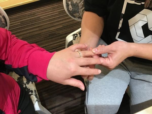 茨城県『gardenオリジナル』婚約指輪をご成約いただきました。
