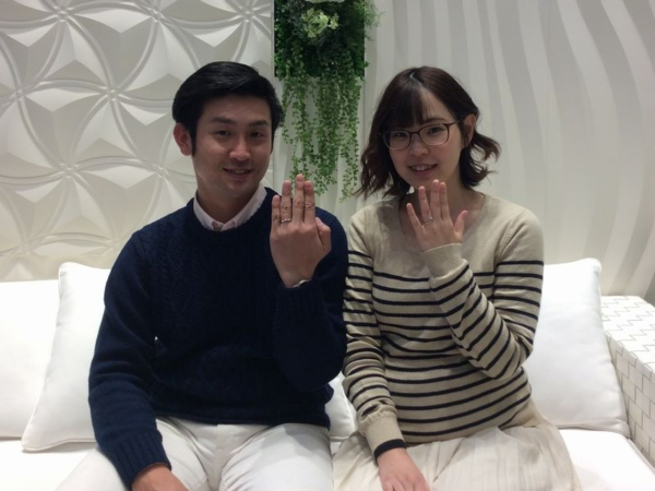 Milk&Strawberry 結婚指輪シャルメ