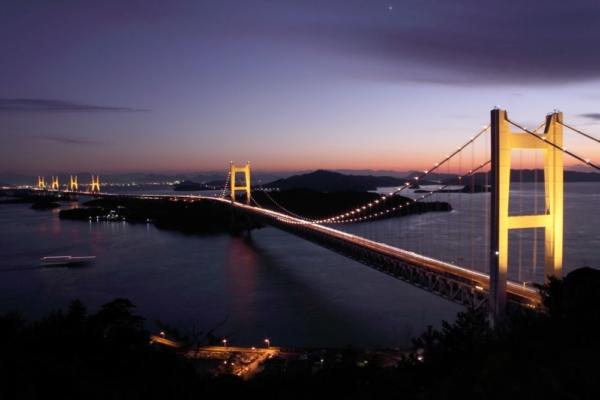 岡山でプロポーズ|瀬戸大橋