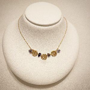 プレゼントにおすすめのKAORU天然石付きネックレス