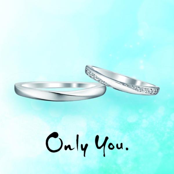 オンリーユウ,結婚指輪,マリッジリング